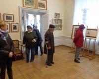 Mieszkańcy w Pałacu Mieroszewskich