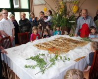 Wspólne pieczenie mazurka
