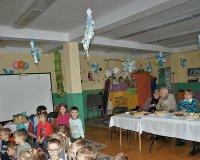 Z wizytą w Przedszkolu nr 40 w Sosnowcu z okazji Dnia Babci i Dziadka