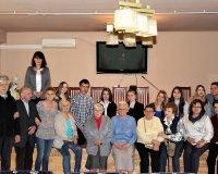 Spotkanie poetyckie z uczniami CKZiU