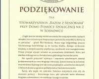 Podziękowanie Wojewody Śląskiego