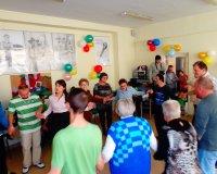 Zabawa taneczna w Środowiskowym Domu Samopomocy