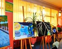 """Wystawa """"Malarstwo, rysunek i miszmasz"""