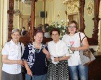 Mieszkańcy w Pałacu Dietla w Sosnowcu