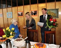 101. urodziny Pani Józefy Kaszuby