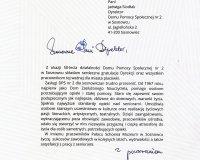 Jubileusz 50-lecia Domu Pomocy Społecznej nr 2 w Sosnowcu