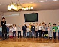 Wiosenne przedstawienie przedszkolaków