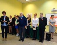 Akademia z okazji Święta Niepodległości w Zespole Szkół w Sosnowcu ZDZ w Katowicach
